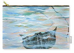 Stingrays Gliding Carry-all Pouch by Linda Olsen