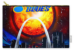 Stl Blues  Darkened Carry-all Pouch