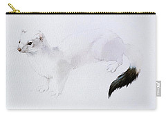 Stoat Watercolor Carry-all Pouch
