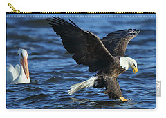 Carry-all Pouch featuring the photograph Stolen Dinner by Coby Cooper