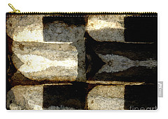 Stone Abstract Carry-all Pouch