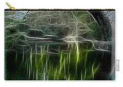 Carry-all Pouch featuring the photograph Stone Arch Bridge - Ny by EricaMaxine  Price