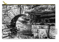 Carry-all Pouch featuring the photograph Stone Arch by Wade Courtney