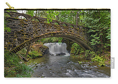 Stone Bridge At Whatcom Falls Park Carry-all Pouch