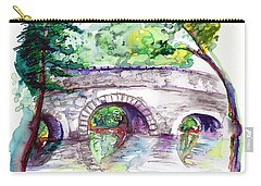 Stone Bridge In Early Autumn Carry-all Pouch