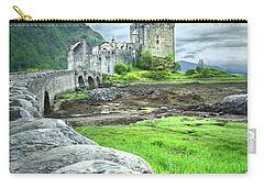 Stone Bridge To The Castle Carry-all Pouch