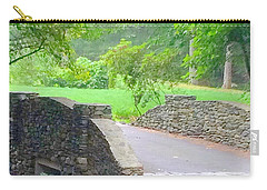 Stone Carriage Road Carry-all Pouch