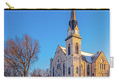 Stone Chapel In Winter Carry-all Pouch