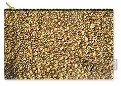 Carry-all Pouch featuring the photograph Stone Chip On A Wall by John Williams