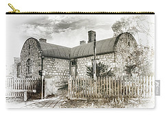 Carry-all Pouch featuring the photograph Stone Cottage by Wayne Sherriff