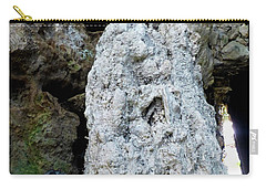 Carry-all Pouch featuring the photograph Stone Over Time by Francesca Mackenney