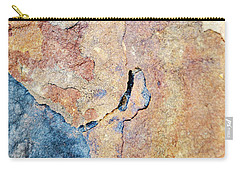 Carry-all Pouch featuring the photograph Stone Pattern by Christina Rollo