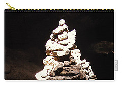 Carry-all Pouch featuring the photograph Stone Soul by Lucia Sirna