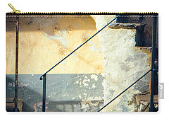 Carry-all Pouch featuring the photograph Stone Steps Outside An Old House by Silvia Ganora