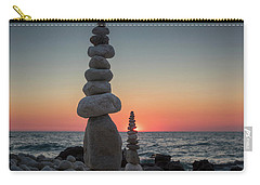 Stone Tower By The Beach Carry-all Pouch