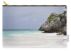 Carry-all Pouch featuring the photograph Stone Turtle by Glenn Gordon