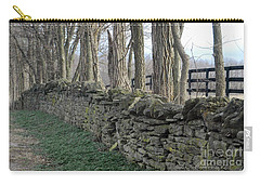 Stone Wall Carry-all Pouch by Linda Mesibov