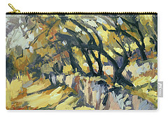 Stone Wall Olive Grove Terrace Carry-all Pouch