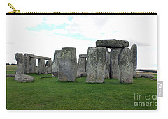 Carry-all Pouch featuring the photograph Stonehenge 1 by Francesca Mackenney