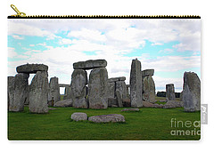 Carry-all Pouch featuring the photograph Stonehenge 3 by Francesca Mackenney