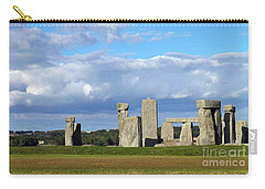 Carry-all Pouch featuring the photograph Stonehenge 4 by Francesca Mackenney