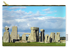 Carry-all Pouch featuring the photograph Stonehenge 5 by Francesca Mackenney