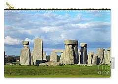 Carry-all Pouch featuring the photograph Stonehenge 6 by Francesca Mackenney