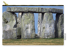 Carry-all Pouch featuring the photograph Stonehenge by Travel Pics