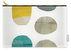 Stones- Abstract Art Carry-all Pouch
