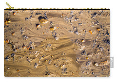 Carry-all Pouch featuring the photograph Stones In A Mud Water Wash by John Williams