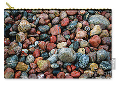 Stones Of Lake Superior Carry-all Pouch by Rachel Cohen