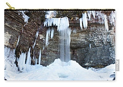 Stony Kill Falls In February #1 Carry-all Pouch
