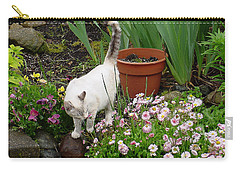 Stop To Smell Flowers Carry-all Pouch