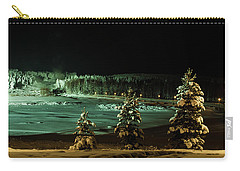 Storforsen In Night Carry-all Pouch by Tamara Sushko