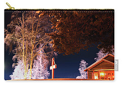 Storforsen In The Night Carry-all Pouch by Tamara Sushko