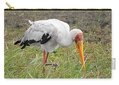 Carry-all Pouch featuring the photograph Stork by Betty-Anne McDonald