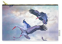 Storks Landing Carry-all Pouch by Brian Tarr
