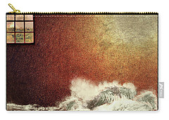Storm Against The Walls Carry-all Pouch