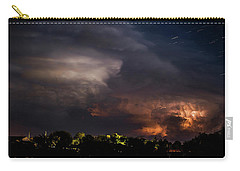 Storm And Star Trails 9 Carry-all Pouch