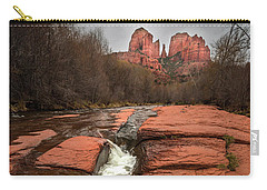 Storm At Cathedral Rock Carry-all Pouch