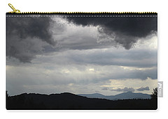 Storm At Lewis Fork Overlook 2014b Carry-all Pouch