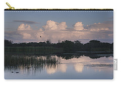Storm At Sunrise Over The Wetlands Carry-all Pouch