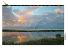 Storm Cloud Reflections At Sunset Carry-all Pouch