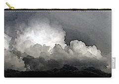 Storm Clouds Are Brewin' Carry-all Pouch by Methune Hively