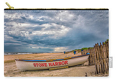 Storm Clouds In Stone Harbor Carry-all Pouch