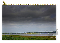 Storm Clouds Moving Over The  Bay Carry-all Pouch