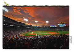 Storm Clouds Over Fenway Park Carry-all Pouch