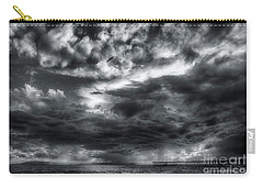 Storm Clouds Ventura Ca Pier Carry-all Pouch by John A Rodriguez
