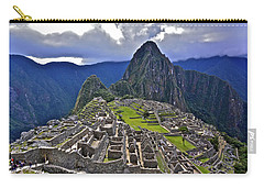 Storm Inbound To Machu Picchu Carry-all Pouch