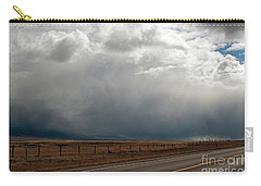 Storm On Route 287 N Of Ennis Mt Carry-all Pouch by Cindy Murphy - NightVisions